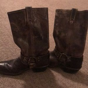 Frye vintage mid calf boots
